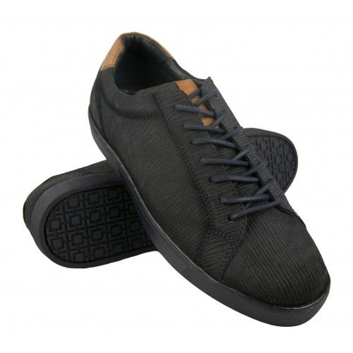 Sneakers low-top en cuir...