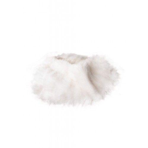 Col en lapin blanc
