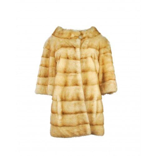 Manteau en vison avec col...
