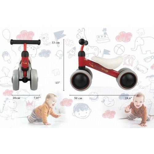 Trotteur - tricycle sans pédales de 0 à 3 ans Airel - 2