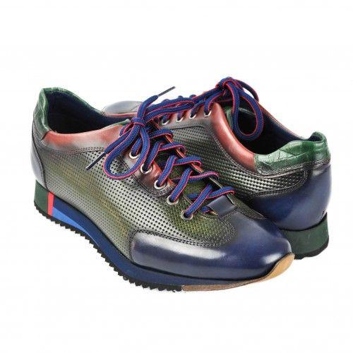 Sneakers marron à lacets Zerimar - 1