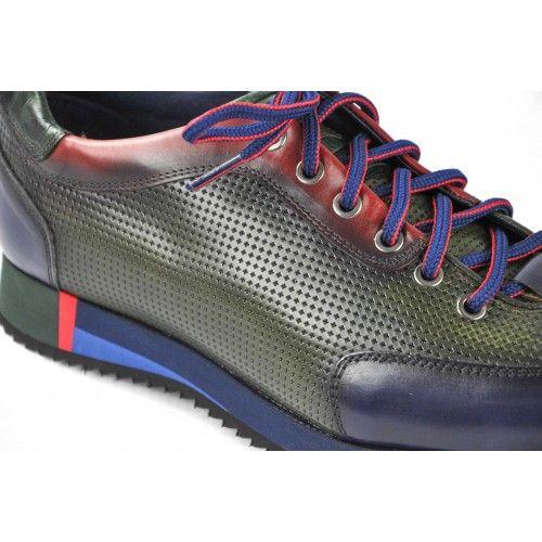 Sneakers marron à lacets Zerimar - 2
