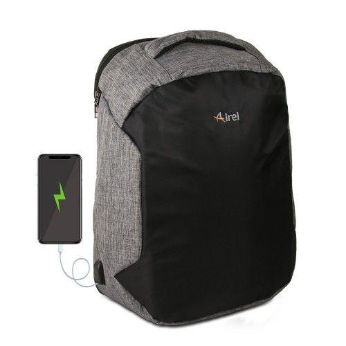Sac à dos avec chargeur portable pour téléphone portable 46x33x16 cm Airel - 1