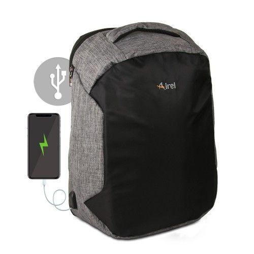 Sac à dos avec chargeur portable pour téléphone portable 46x33x16 cm Airel - 2
