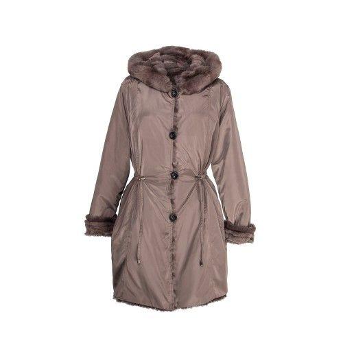 Manteau réversible avec...