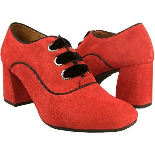 Chaussures en cuir avec...