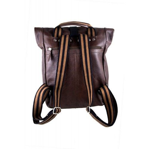Sac à dos en cuir style casual 33x27x9 cm Zerimar - 2