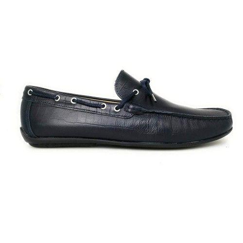 Chaussures bateau en cuir pour hommes - grandes tailles 47 à 50 Zerimar - 2