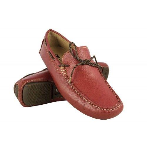 Chaussures bateau cuir pour homme - grandes tailles 47 à 50 Zerimar - 1