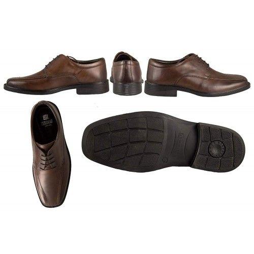 Chaussures en cuir élégantes classiques pour hommes Zerimar - 2