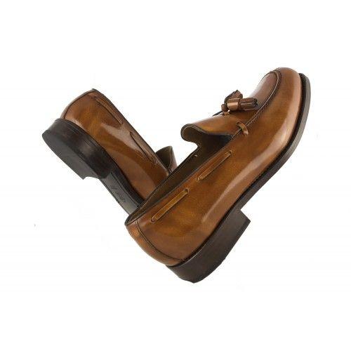 Chaussures castillans pour hommes avec pompon Zerimar - 2