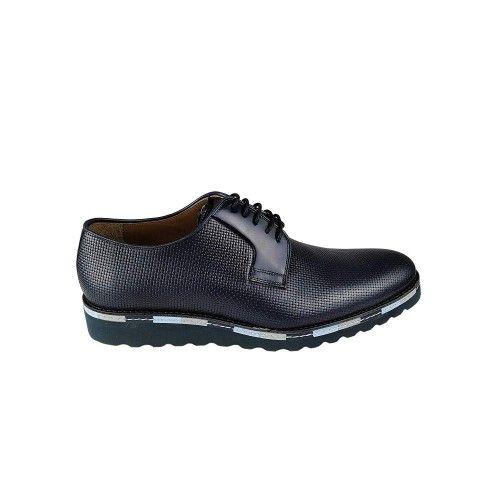 Chaussures farbiquées en cuir avec un design élégant pour hommes Zerimar - 2