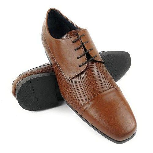Chaussures élégantes pour homme en cuir Zerimar - 1