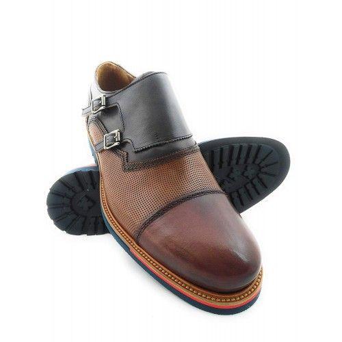 Chaussures en cuir style casual Zerimar - 1