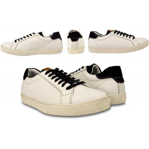Chaussures sport cuir