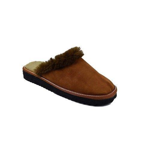 Pantoufles pour l'hiver en cuir naturel double face Zerimar - 2