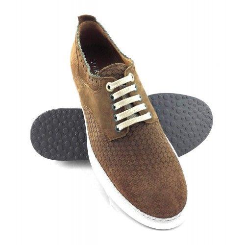 Chaussures pour hommes style casual couleur bleu marine Zerimar - 1