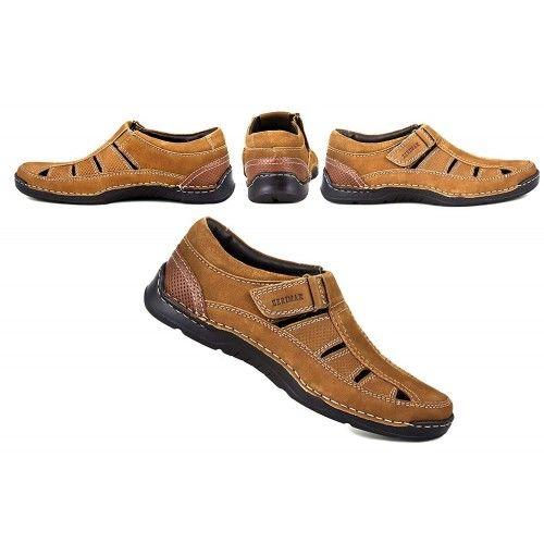 Sandales en cuir pour faire...