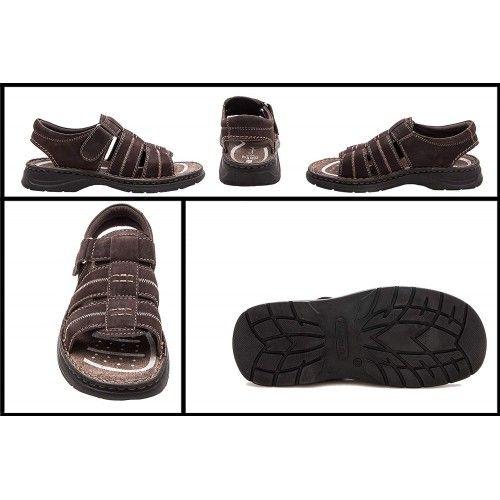 Sandales en cuir pour trek