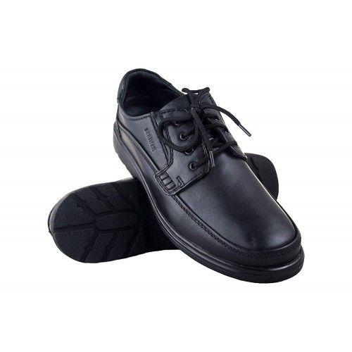 Chaussures d'homme en cuir pour l'hôtellerie couleur marron Zerimar - 1