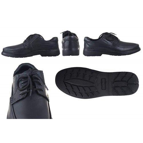 Chaussures d'homme en cuir pour l'hôtellerie couleur marron Zerimar - 2