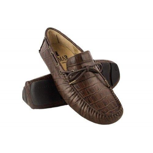 Chaussures nautiques d'été en cuir pour hommes Zerimar - 7