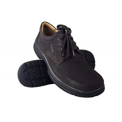 Chaussures homme en cuir pour l'hôtellerie couleur marron Zerimar - 1