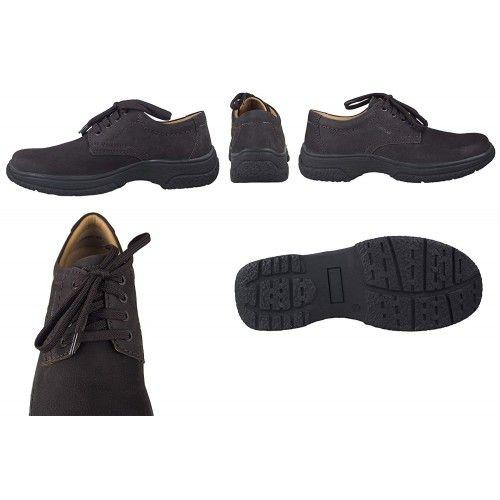Chaussures homme en cuir pour l'hôtellerie couleur marron Zerimar - 2