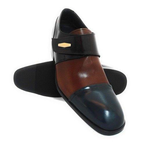 Chaussures rehaussantes pour hommes avec fermetures latérales Zerimar - 1
