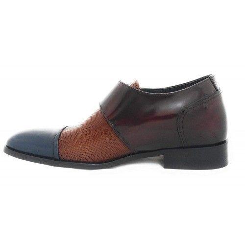 Chaussures rehaussantes pour hommes avec fermetures latérales Zerimar - 2