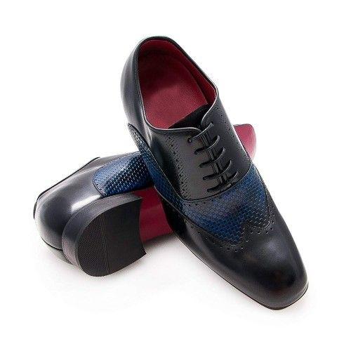 Chaussures élégantes avec rehaussement de 7 cm pour hommes Zerimar - 1