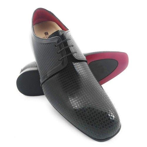 Chaussures rehaussantes pour hommes fabriquées en espagne Zerimar - 1