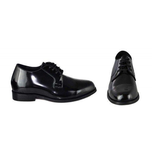 Chaussures en cuir avec hausse intérieure de 7 cm pour homme Zerimar - 2