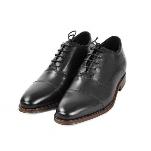 Chaussures en cuir pour homme avec rehaussement intérieure de 7 cm Zerimar - 2