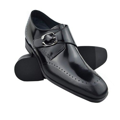 Chaussures élégantes rehaussantes pour hommes fabriquées en espagne Zerimar - 1