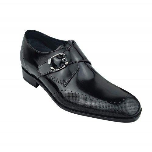 Chaussures élégantes rehaussantes pour hommes fabriquées en espagne Zerimar - 2