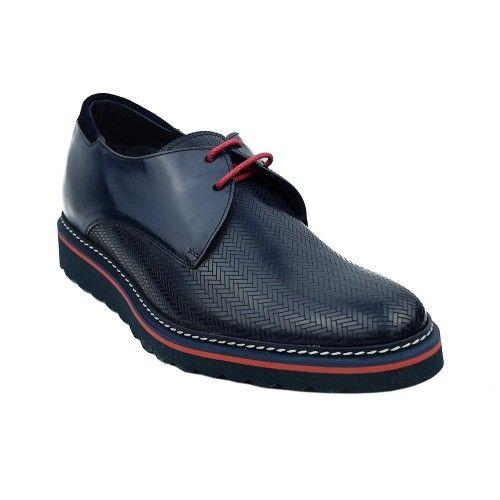 Chaussures rehaussantes 7 cm à lacets pour hommes Zerimar - 2