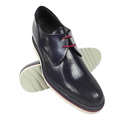 Chaussures élégantes pour hommes avec un rehaussement de 7 cm Zerimar - 1