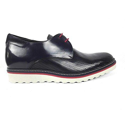 Chaussures élégantes pour hommes avec un rehaussement de 7 cm Zerimar - 2