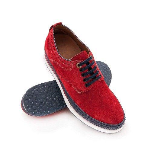 Chaussures rehaussantes de 7 cm pour hommes fabriquées en espagne Zerimar - 1
