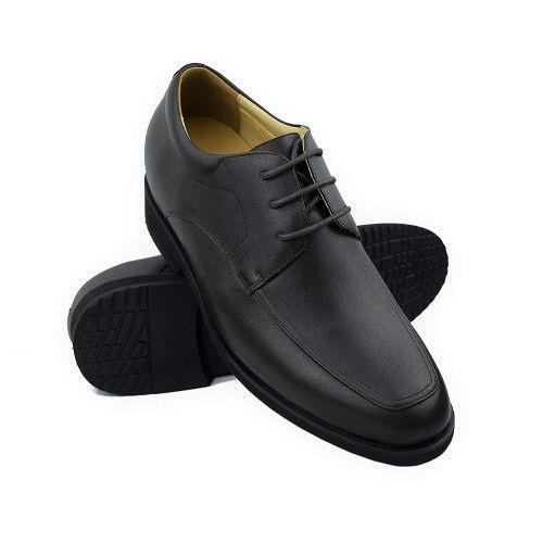 Chaussures élégantes en cuir pour hommes avec rehaussement de 6,5 cm Zerimar - 1