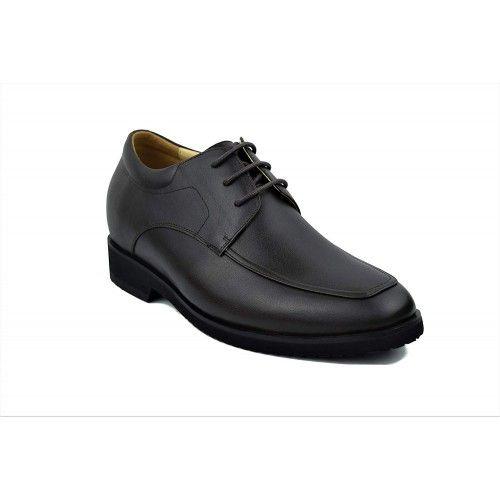 Chaussures élégantes en cuir pour hommes avec rehaussement de 6,5 cm Zerimar - 2