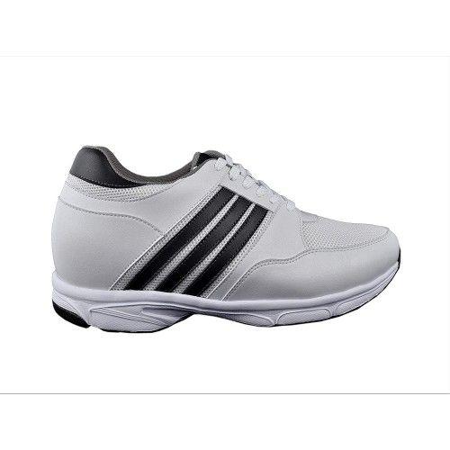 Chaussures sportives rehaussantes pour homme couleur blanche Zerimar - 6