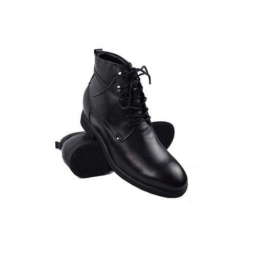 Bottes rehaussantes de 7 cm couleur noir Zerimar - 1