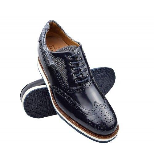 Chaussures avec hausses intérieures qui augmentent la hauteur de 7 cm Zerimar - 1