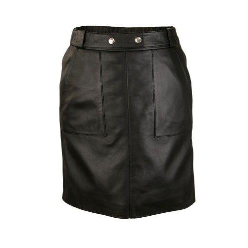 Mini jupe avec poches et boutons ajustés à la taille Zerimar - 1