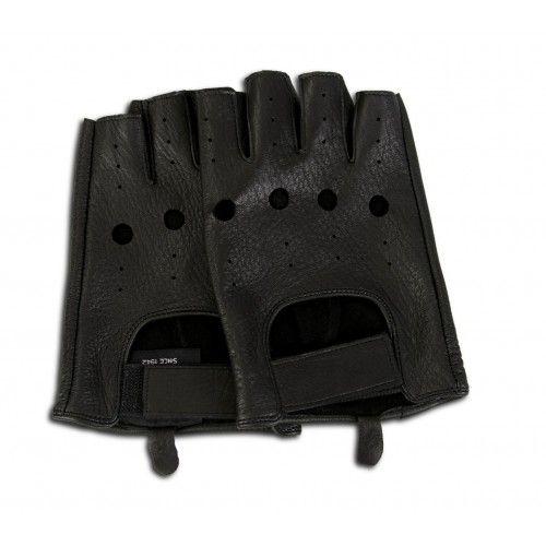Gants en cuir sans doigts pour les conducteurs Zerimar - 7