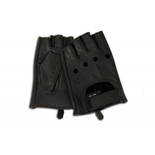 Gants en cuir sans doigts pour les conducteurs Zerimar - 8