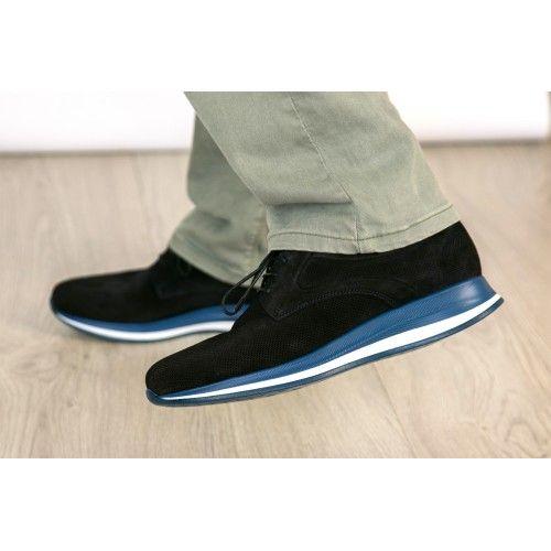 Chaussures de sport en cuir...