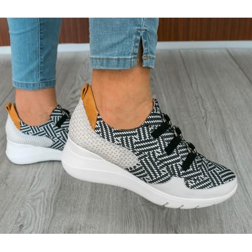 Sneakers femme avec fermeture élastique Zerimar - 2